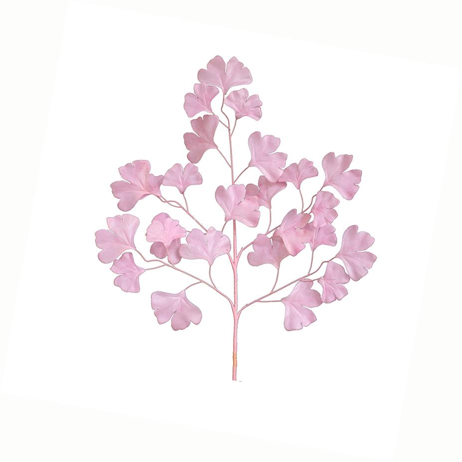 五叉开运叶粉色